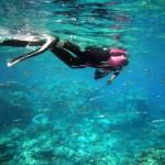 Andrea at Flynn Reef