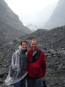 Glacial Newlyweds