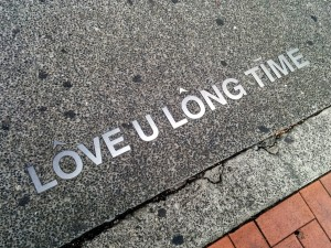 Our honeymoon motto