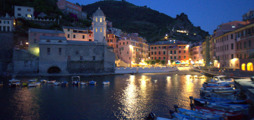 A Train to, and an Afternoon in Vernazza [Day 3]