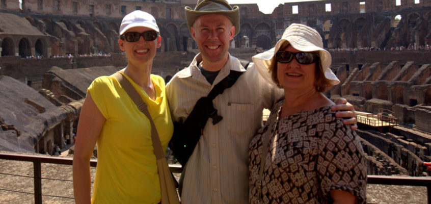 The Coliseum and a Walk Through Ancient Rome [Day 10]