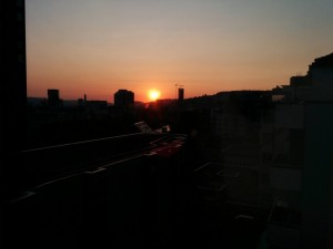 One final sunset (Zurich)